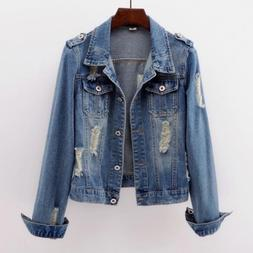 2019 Plus Size 5XL <font><b>Denim</b></font> <font><b>Jacket