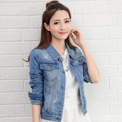 2019New <font><b>Denim</b></font> <font><b>Jacket</b></font>