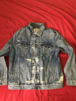 $398 Levis Made And Crafted Denim Jacket Made in Japan Size