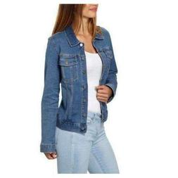 Calvin Klein Ladies' Denim Jacket, Moonlight Dusk, Size L, N