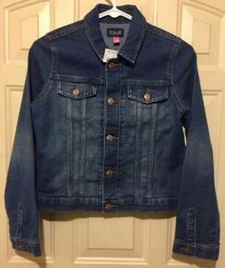 NEW Girls The Children's Place Denim Blue Jean Jacket Size X