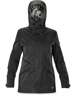 Dakine Joey Shell Snowboard Jacket Women's Medium Black Deni