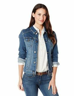Wrangler Authentics Women's Stretch Denim Jacket - Inside Po