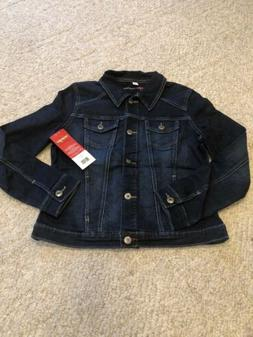 Wrangler Authentics Women's Stretch Denim Jacket Size Small