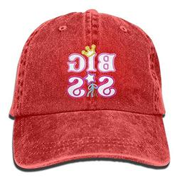 Jiuyuan Big Sister Baseball Cap for Men/Women Adjustable Uni