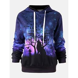 BEAUTYVAN Blouse Beautiful Design Women Wolf Digital Printin