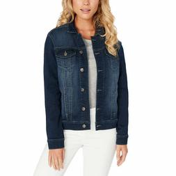 Buffalo Ladies' Knit Denim Jacket - BLUE  * FAST SHIPPING *