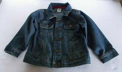 Carter's Toddler Infant Girl Size 24 Month Blue Denim Jean J