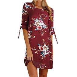 BEAUTYVAN Clearance Deals ! Women Dress 2018 Womens Floral P