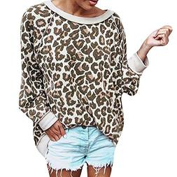 Clearance Sale ! Women Sweatshirt,BeautyVan Women Casual Leo