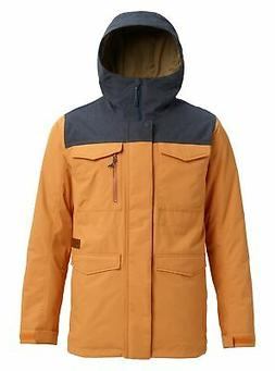 Burton Men's Covert Jacket, Golden Oak/Denim, Medium
