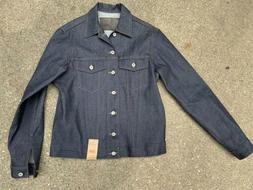 Naked and Famous Denim Jacket Canada size Large Dry Broken T