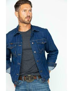 Wrangler Denim Jean Jacket - 74145PW- US SHIPPER