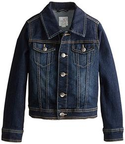 The Children's Place Girl Denim Jean Jacket Pockets -  Size