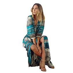 BEAUTYVAN Women Dress 2018 Women Boho Dress Women Summer Boh