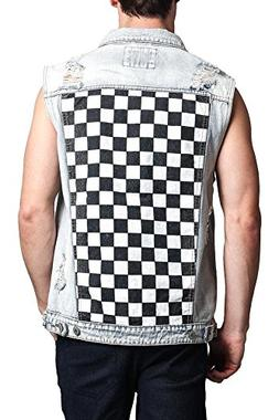 Victorious G-Style USA Distressed Checkered Ska Punk Mod Den
