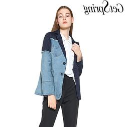 GetSpring Women Blazer <font><b>Jacket</b></font> <font><b>D