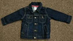 INFANT GIRLS 12 mo CARTER'S DENIM JACKET outerwear STRETCH B