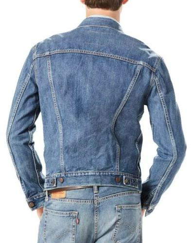 $89.50 Red Men's Sz Shelf Jean Jacket