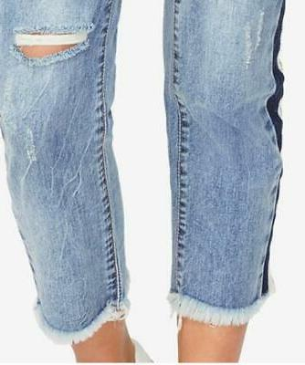 $99 RACHEL Roy Distressed Ripped Jeans, 27