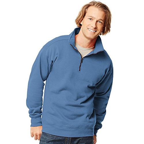 men nano lightweight quarter zip