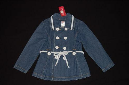 NWT GYMBOREE Wish You Were Here Nautical Denim Blue Jean Jac