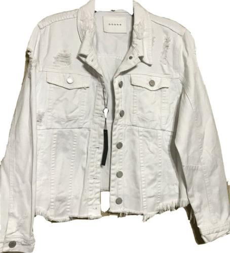 Blank Jacket Size LARGE