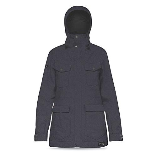 canyons snow jacket denim outerwear