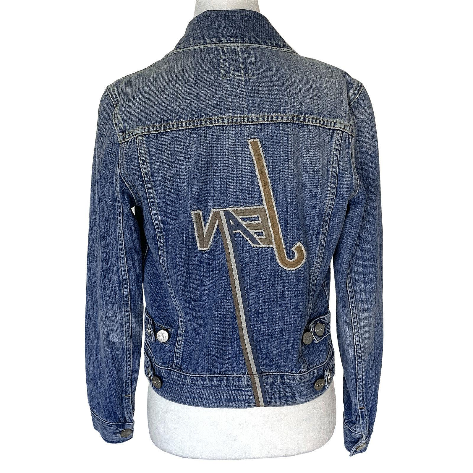 carter denim jacket size s originally 475