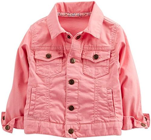carter s baby girls denim jacket baby