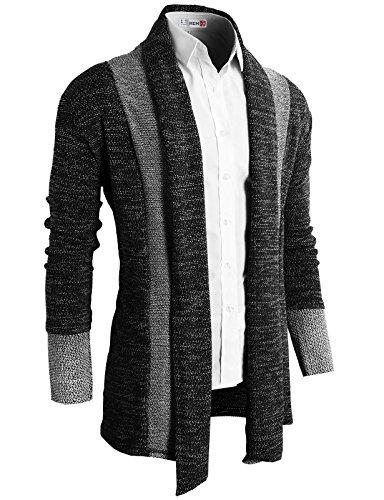 casual slim fit knit cardigan
