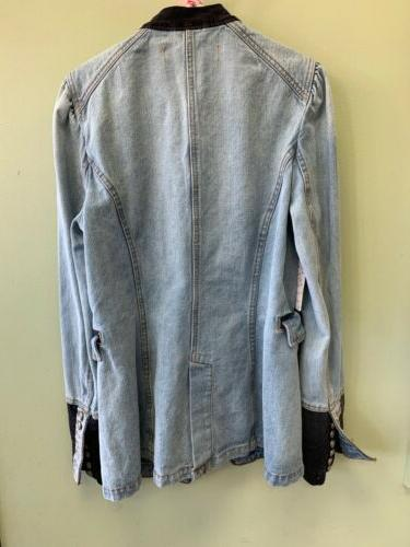 Free And Structed Military Jacket M