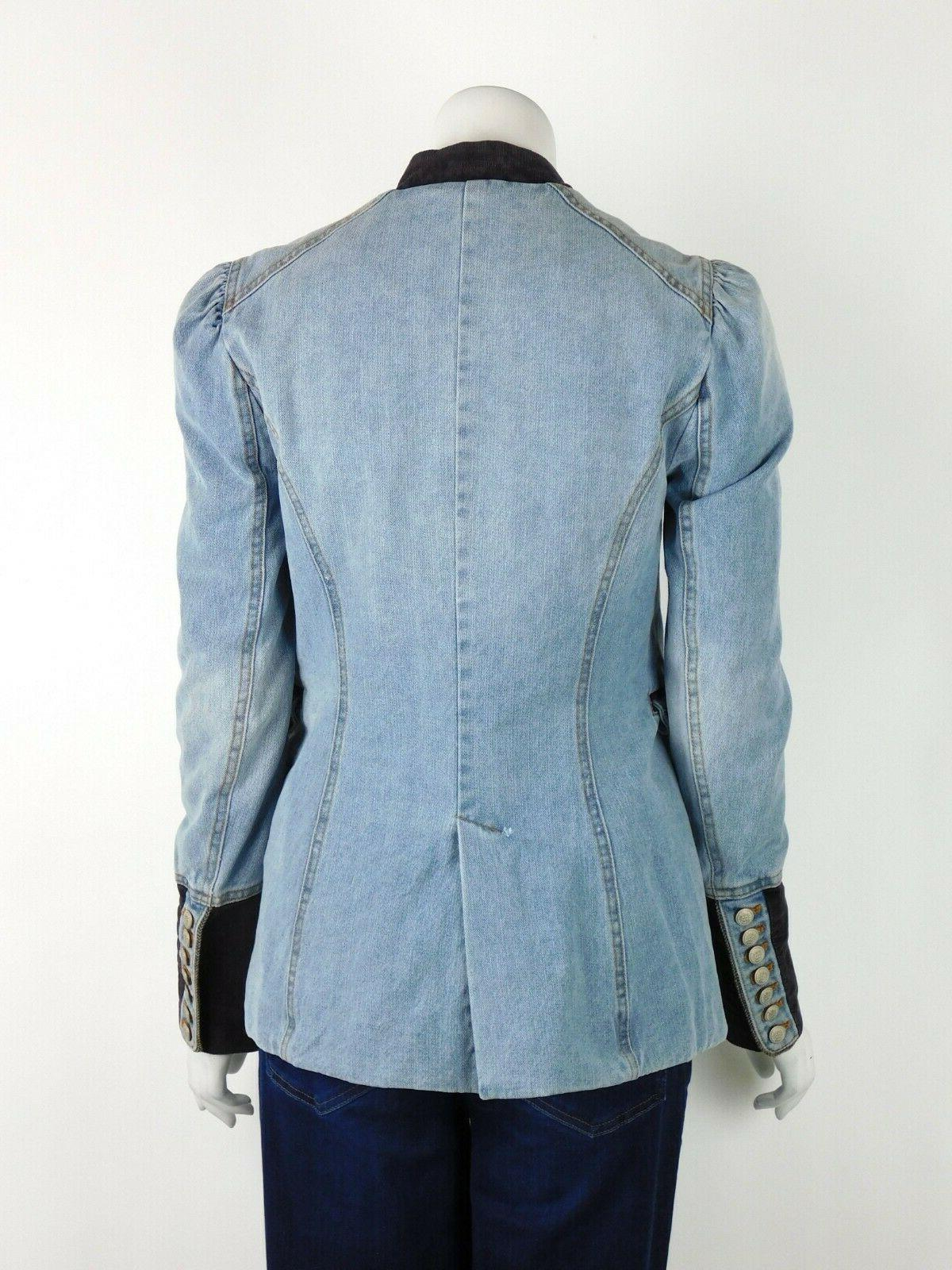 Free And Structured Front Blue