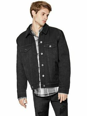 factory men s skyes sherpa denim jacket
