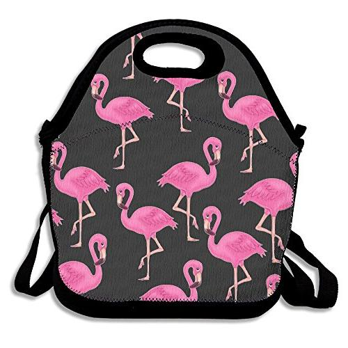 flamingo lunch bags insulated picnic
