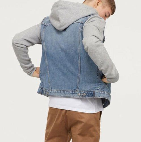 H&M Men's Hooded Jacket NWT!!