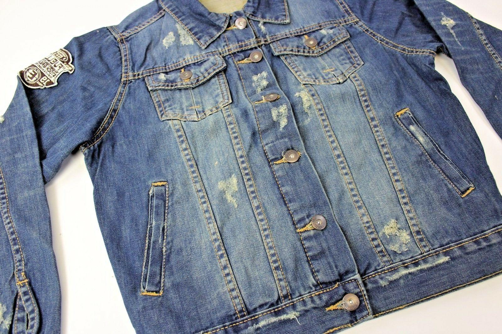 TONY JONES Petite Size Cotton Blue Denim