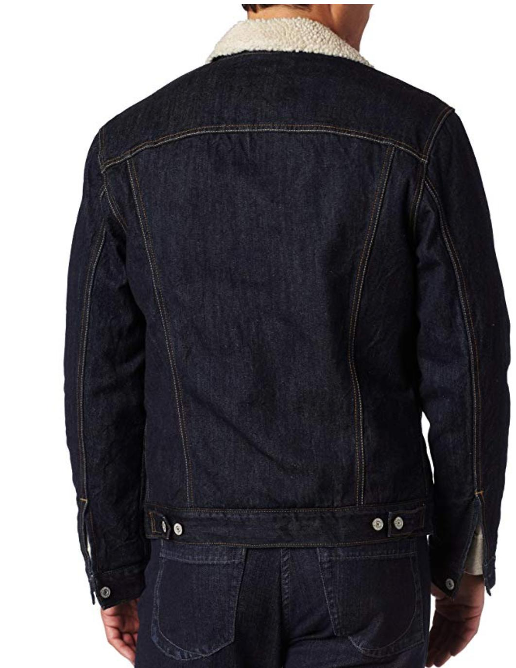 Levis Button Blue Rinse 705980027