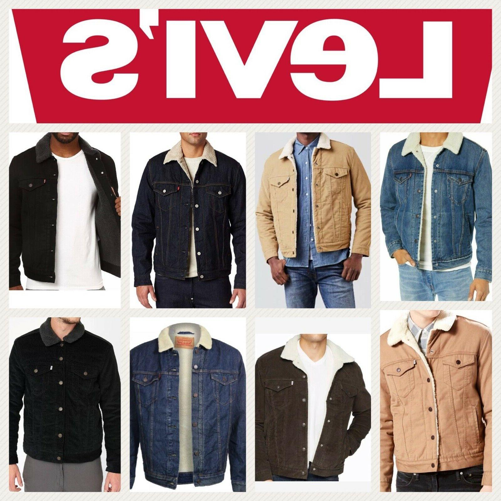 levis jacket denim trucker jackets black blue
