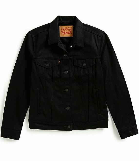 Levis Jacket Color Black