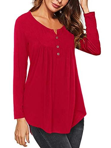 long sleeve hneley shirts casual