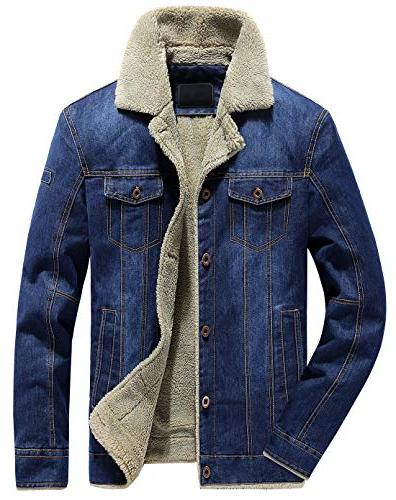 men s classic button front rugged sherpa