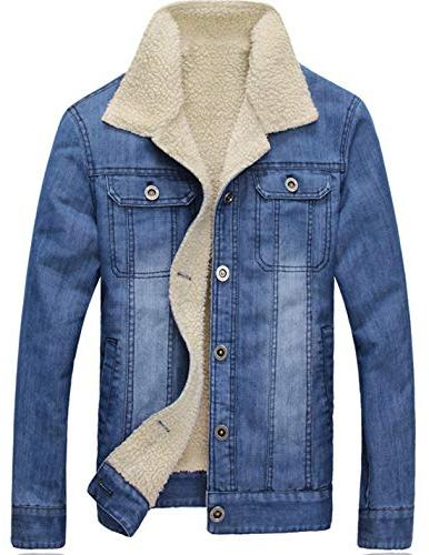 men s essential heavyweight sherpa lined washed