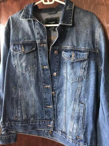 *Mens Denim Jacket Side *