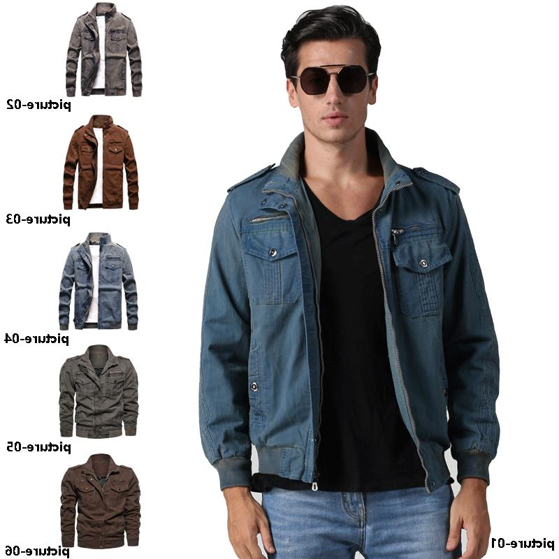 mens vintage fashion long sleeve zip up