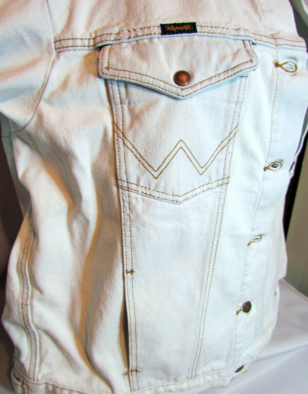 NEW NWT Mens White Jean Classic $78