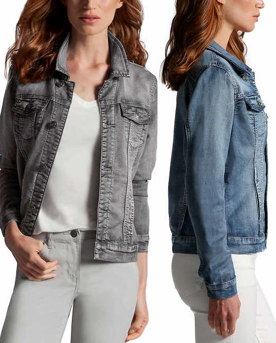 new women s knit denim jackets variety