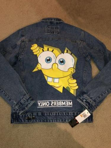 Members Only Nickelodeon Denim Size