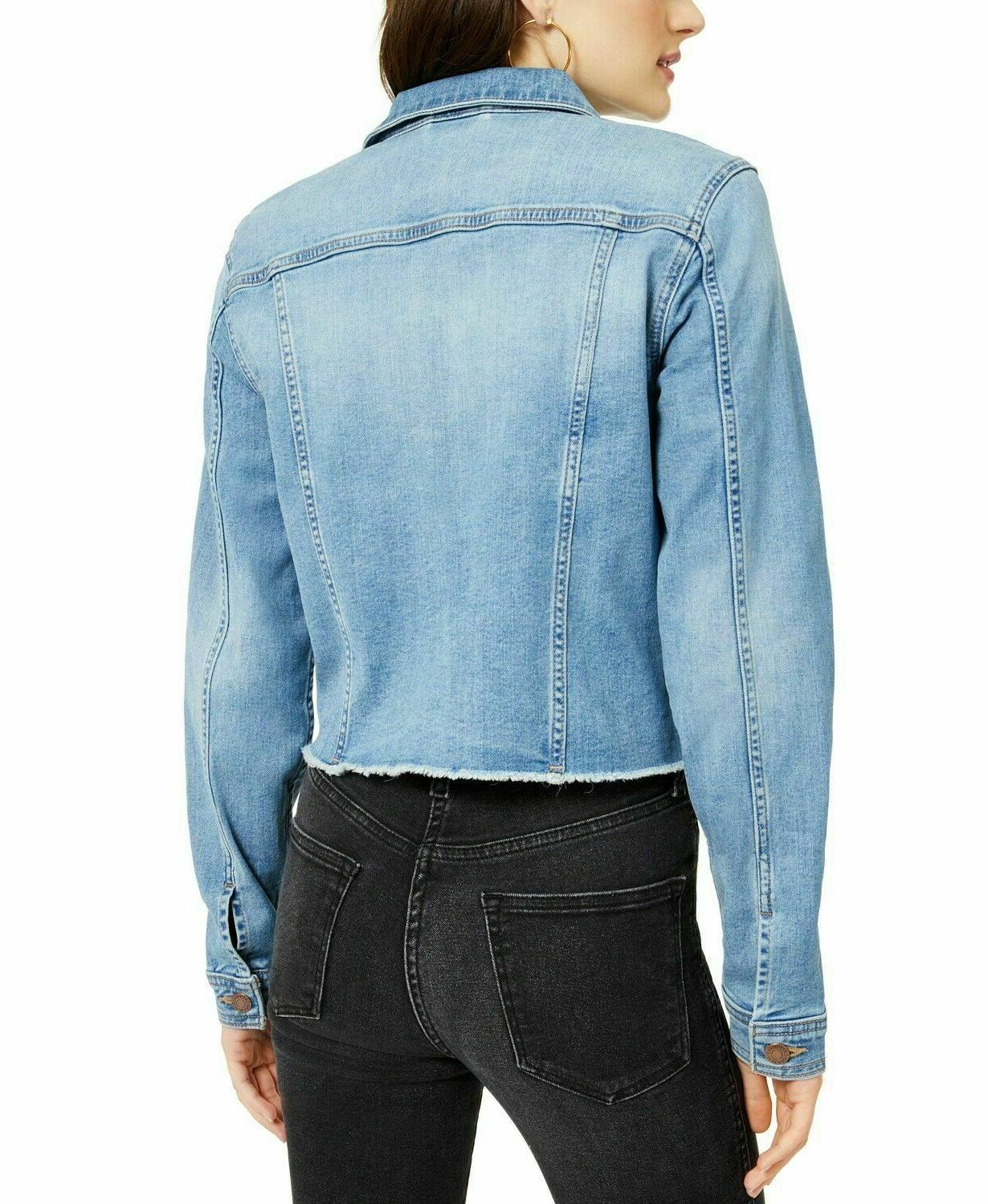 NWT Cotton Denim Jacket L