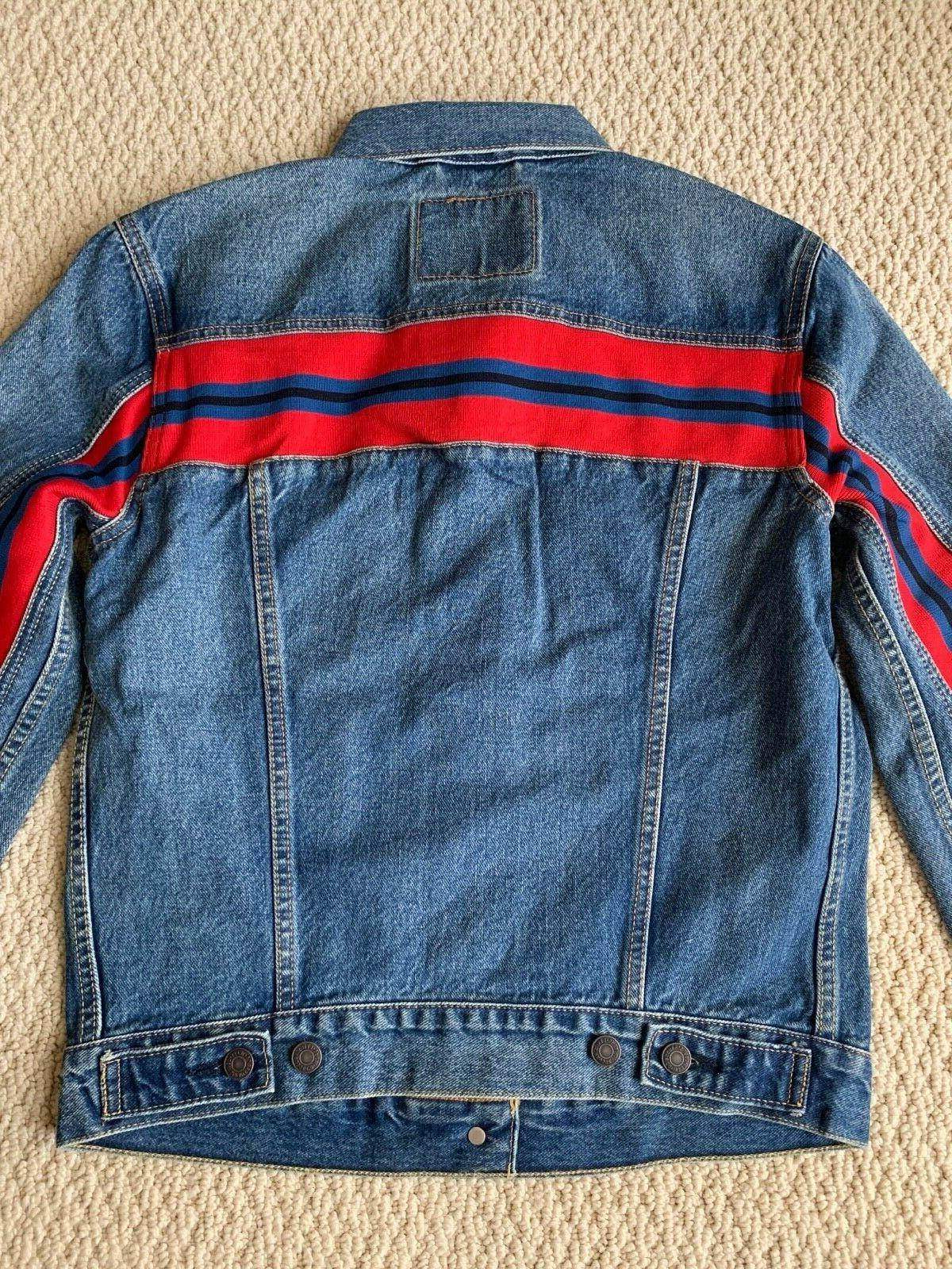 Red Trucker Blue Denim SIZES